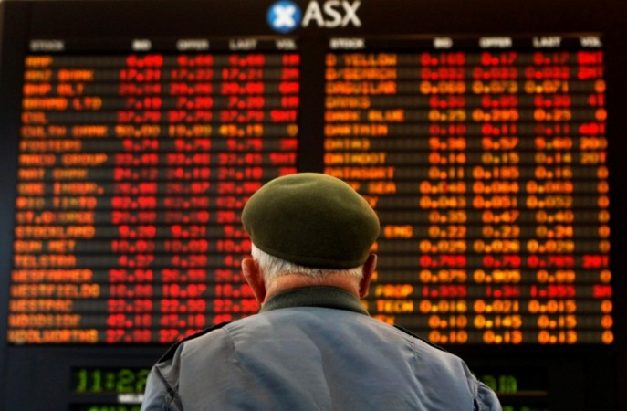Asian markets outside Japan trade lower on 21 November