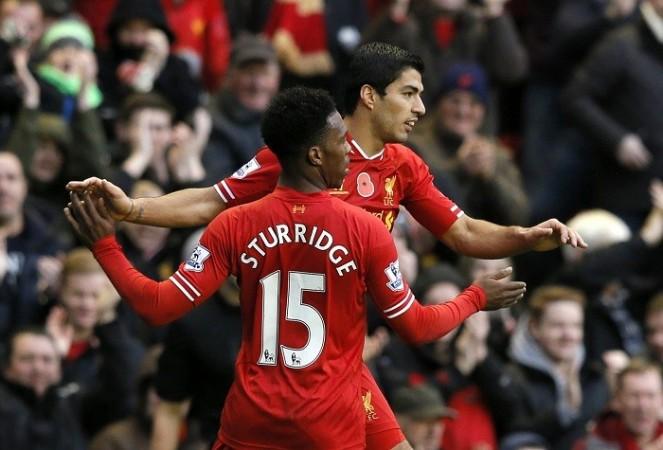 Suarez Sturridge Liverpool
