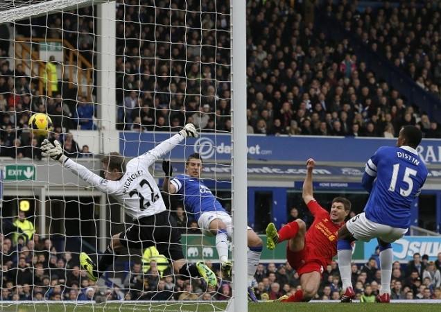 Mirallas Everton Gerrard Liverpool