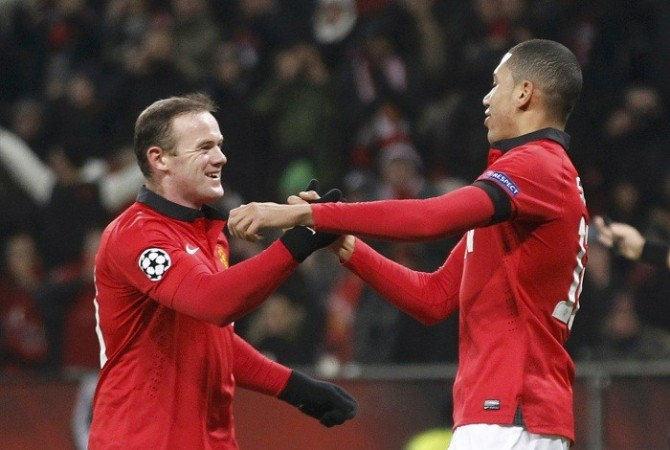 Rooney Smalling Manchester United