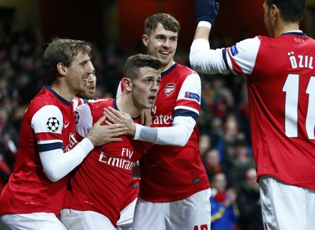 Arsenal Wilshere Monreal Ramsey