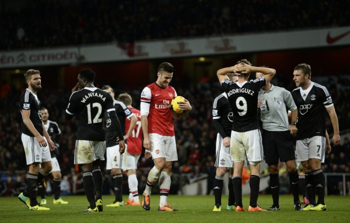 Southampton lost 2-0 at the Emirates last week