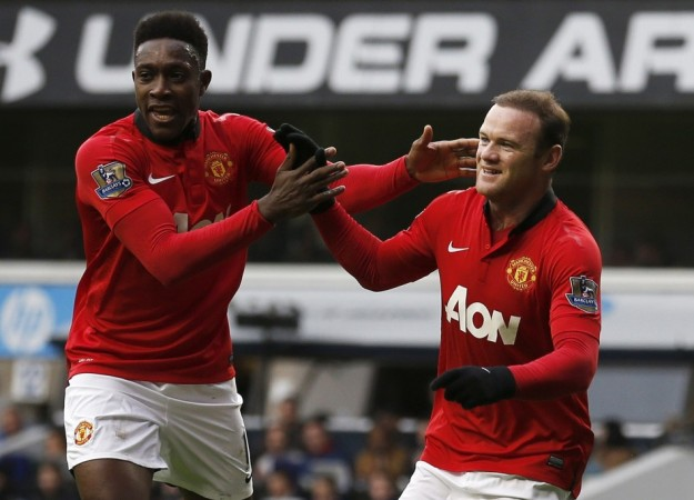 Rooney scored twice against Spurs