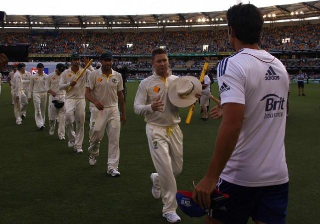 Ashes Australia England Clarke Cook