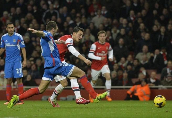 Mesut Ozil Arsenal Hull
