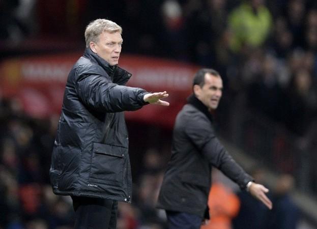 Martinez Moyes Everton Manchester United