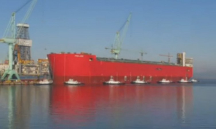 Shell's Prelude FLNG