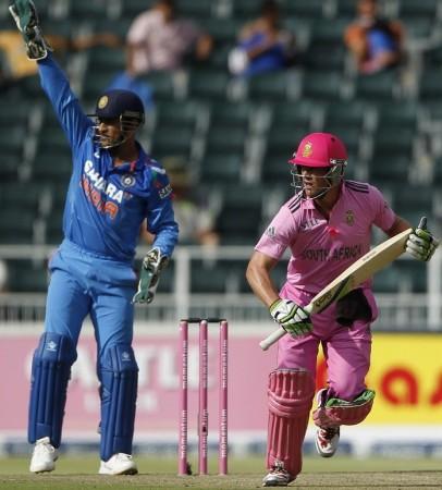 Dhoni De Villiers India South Africa