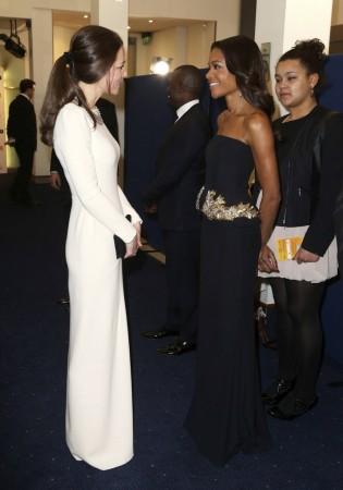 Kate Middleton, Naomie Harris