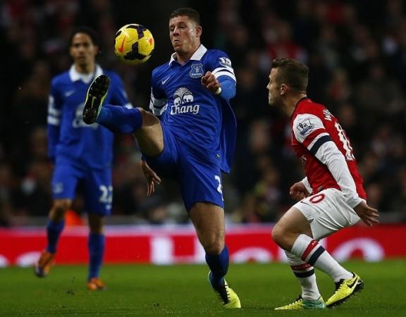 Ross Barkley Everton Arsenal Jack Wilshere