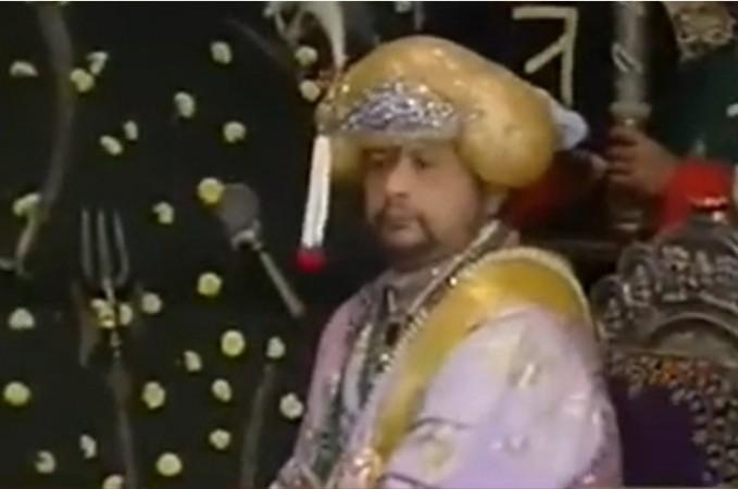 Maharaja Srikantadatta Narasimharaja Wodeyar