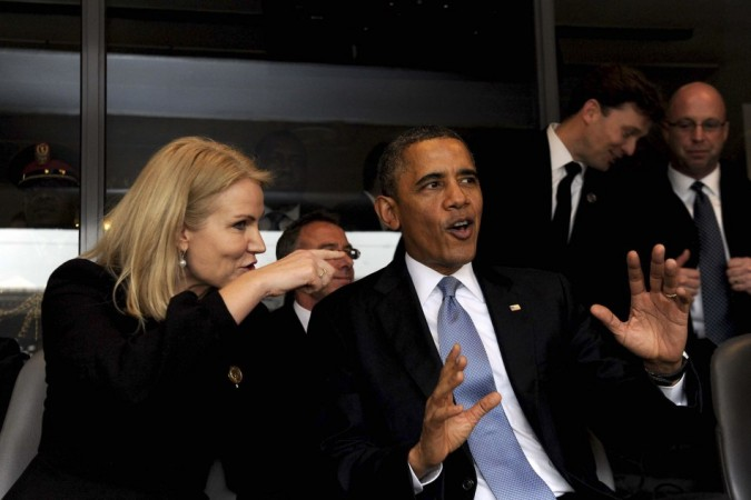 Barck Obama, Thorning Schmidt