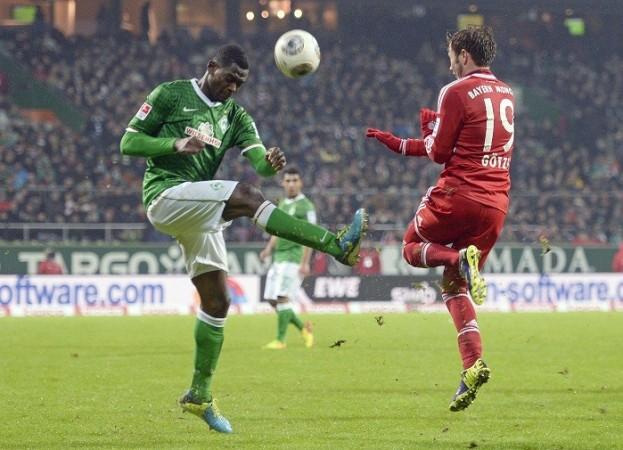 Werder Bremen Lukimya Gotze Bayern Munich