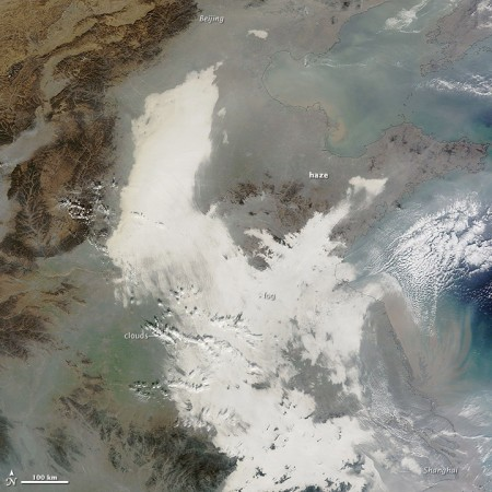 China Pollution Image