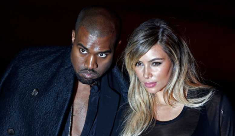 American television personality Kim Kardashian reportedly wants a wedding dress similar to that of Kate Middleton. Here seen with Kanye West (Reuters)
