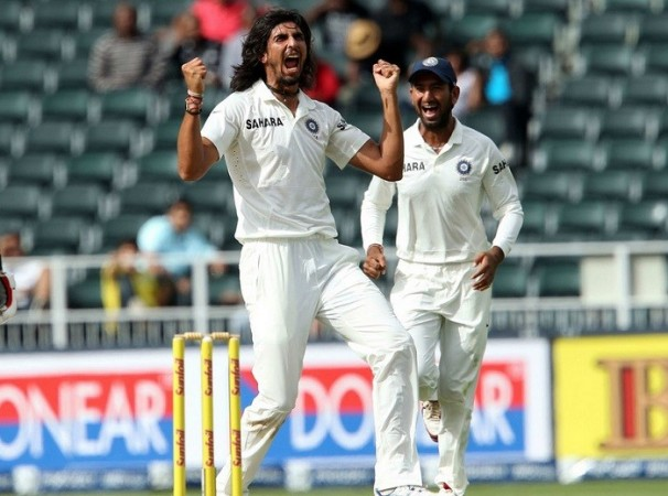 Ishant Sharma India Pujara
