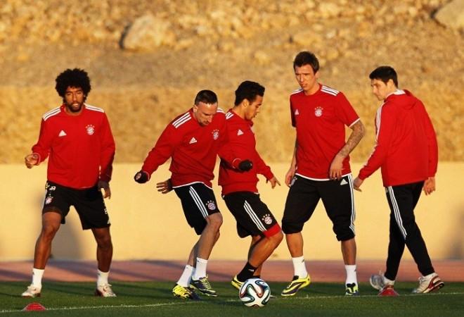 Bayern Munich Robery Dante Mandzukic Thiago