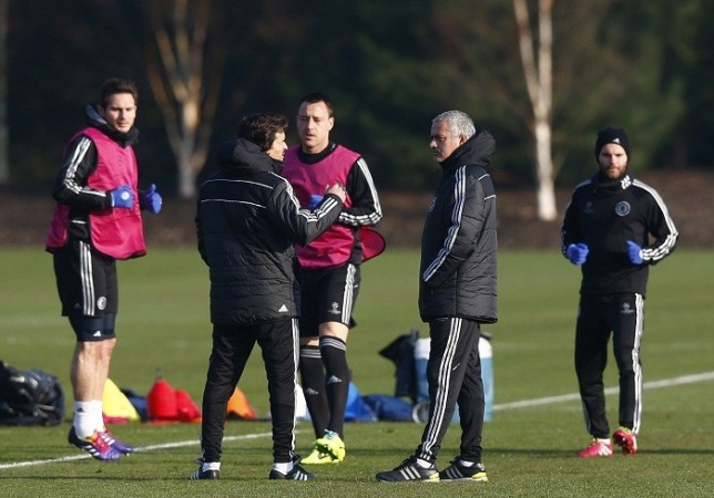Mourinho Lampard Terry Mata Chelsea