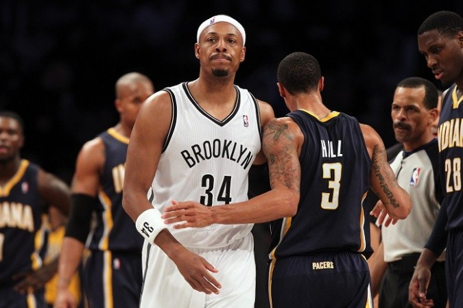 Brooklyn Nets Paul Pierce