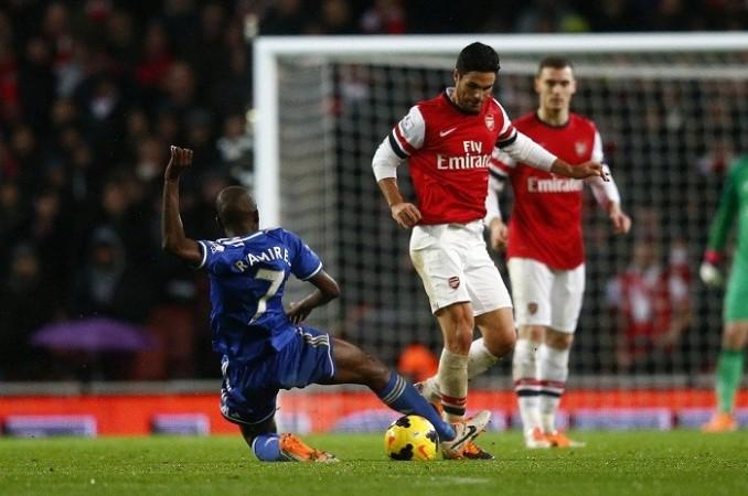 Ramires Chelsea Arteta Arsenal