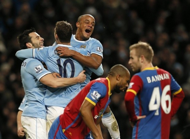 Manchester City Kompany Negredo Crystal Palace