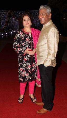 TV actors attended Aamna Shariff's wedding (Varinder Chawla)