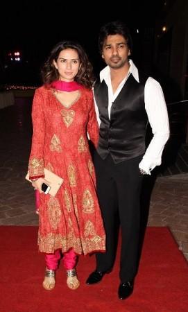 TV actors at Aamna Shariff's wedding (Varinder Chawla)