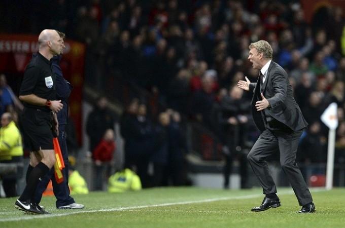 David Moyes Manchester United referee