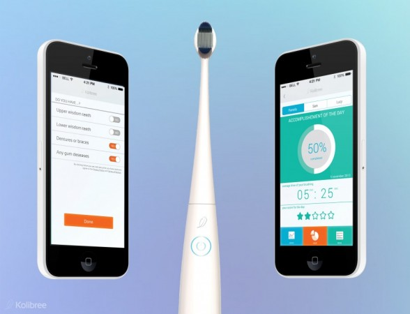 International CES 2014: Kolibree's Connected Intelligent Toothbrush Unveiled