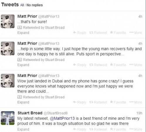 Broad Prior tweets