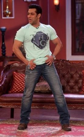 Salman Khan on'comedy Night With Kapil'
