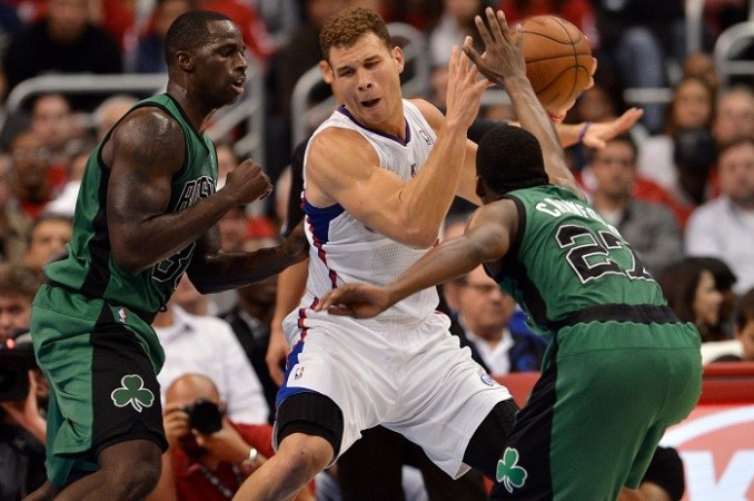 Blake Griffin LA Clippers Boston Celtics