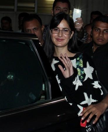 Katrina Kaif arrives in Mumbai