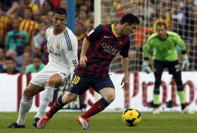 Ronaldo Messi Real Madrid Barcelona