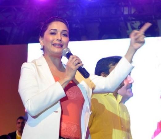 Madhuri Dixit at Spinnathon 2014