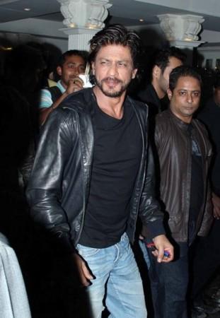 Shahrukh Khan at a bar launch