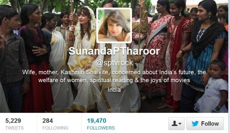 Sunanda's Twitter Page