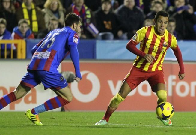 Levante v Barcelona