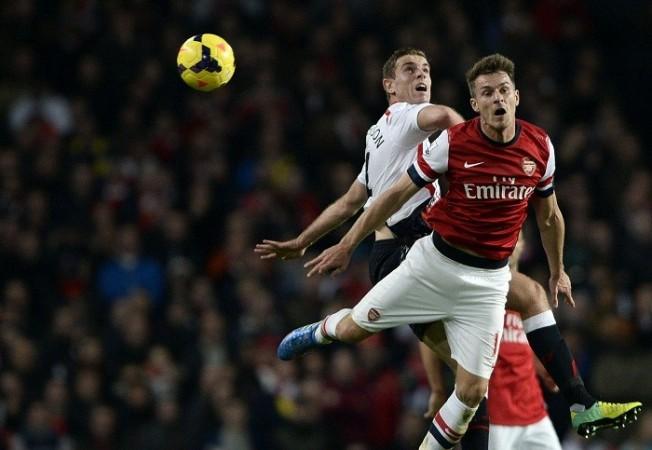 Aaron Ramsey Arsenal Jordan Henderson Liverpool