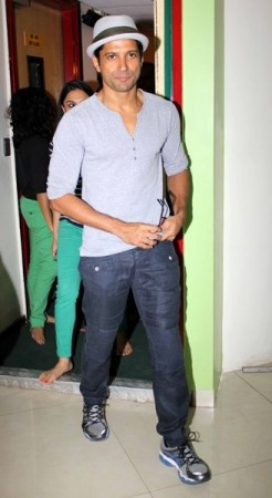 Farhan Akhtar at Radio Mirchi