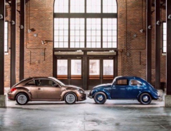 The Beetle hit American roads 65 years ago this month, and it shows no signs of retirement.