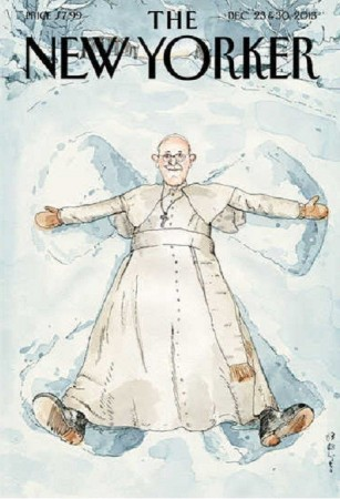 The New Yorker Cover on Pope Francis/TNY