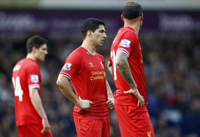 Liverpool Suarez Skrtel