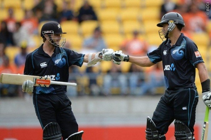 Kane Williamson Ross Taylor New Zealand
