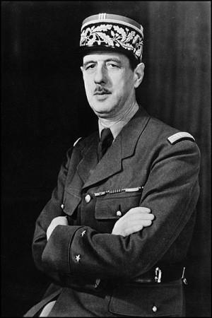 Former French President Charles De Gaulle/WikiCommons