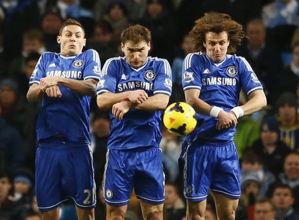 Nemanja Matic, Branislav Ivanovic, David Luiz, Chelsea
