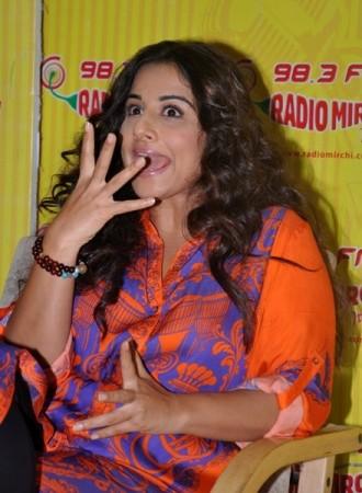 Vidya Balan at Radio MIrchi