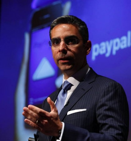 PayPal President David Marcus was robbed by a hacker,who stole his credit card information/Reuters File