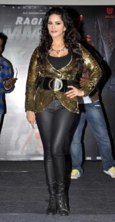 Sunny Leone promotes her upcoming film Ragini MMS 2.
