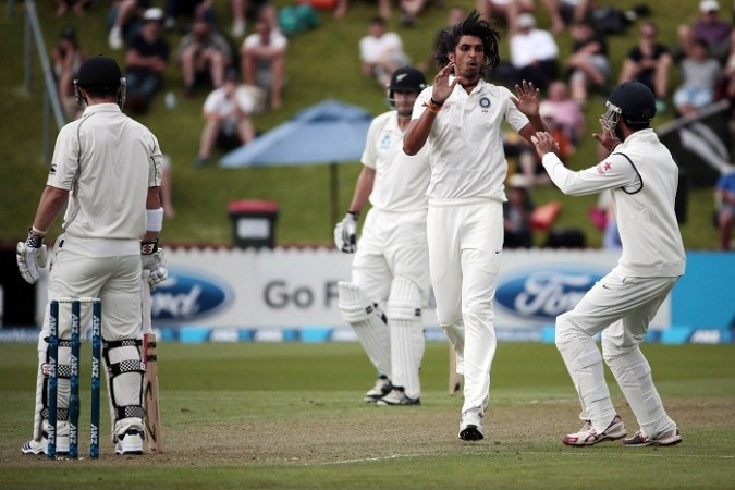 Ishant Sharma India New Zealand